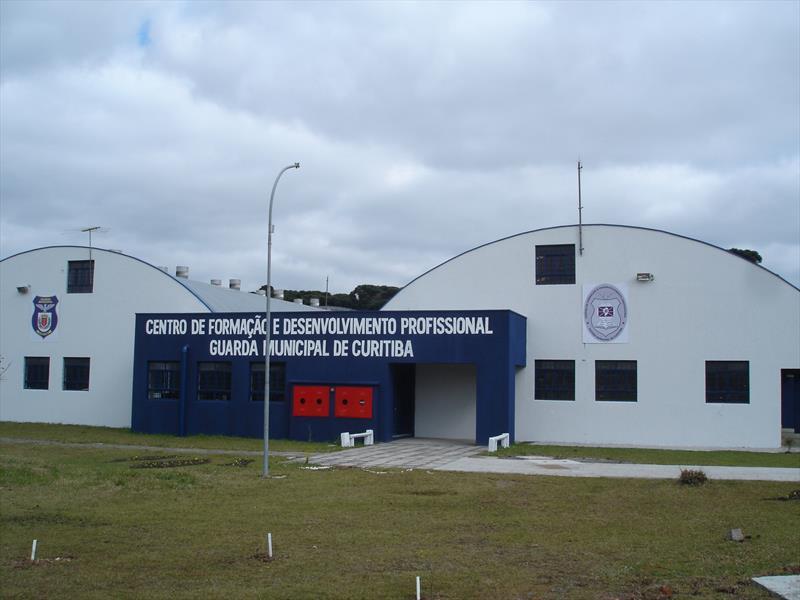 A Guarda Municipal de Curitiba terá uma academia estruturada com quadra coberta, estande de tiro e ala administrativa com refeitório e auditório. Foto: Divulgação