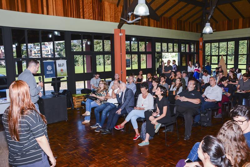 Startups do Vale do Pinhão estarão na 28ª Feira de Imóveis do Paraná. Na imagem Worktiba Barigui.  Foto: Levy Ferreira/SMCS
