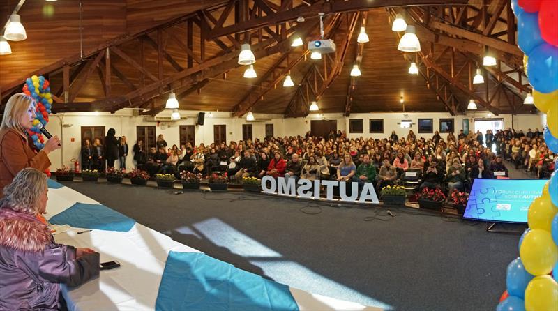 Abertura do I Fórum Curitibano sobre Autismo. Curitiba, 22/08/2019 Foto: Valdecir Galor/SMCS