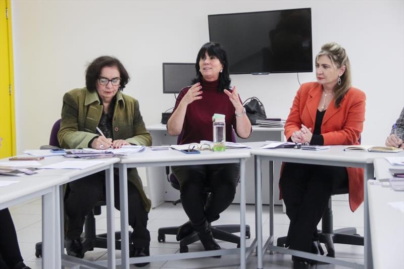 Casa da Mulher Brasileira recebe visita da Procuradoria da Mulher da Câmara Municipal. Foto: Pedro Ribas/SMCS