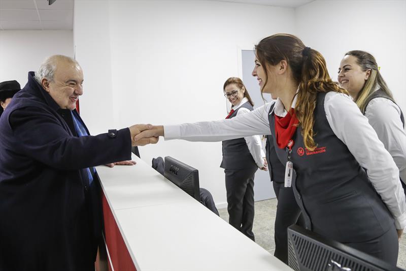 Prefeito Rafael Greca inaugura a nova unidade de pronto socorro do Hospital Universitário Evangélico Mackenzie. Curitiba, 05/09/2019. Foto: Pedro Ribas/SMCS