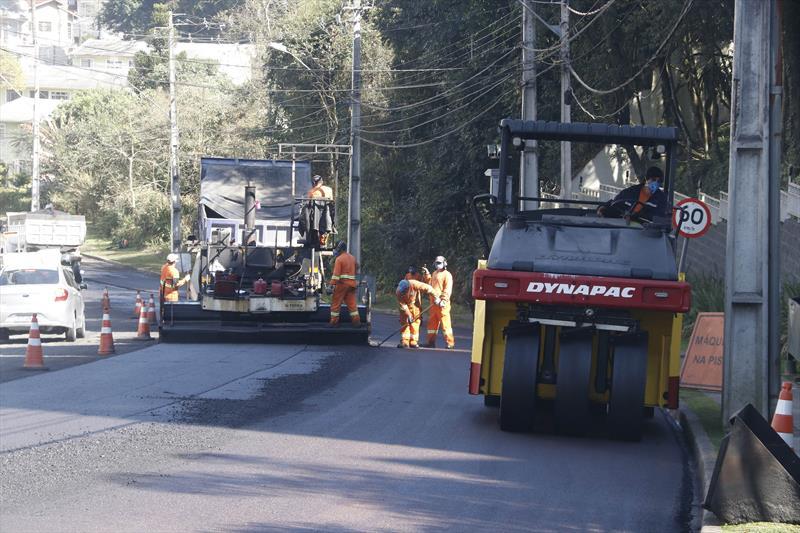 Semana de obras de pavimentação terá trabalho em 23 ruas. Foto: Lucilia Guimarães/SMCS