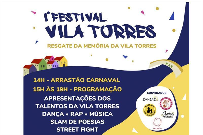 Festival traz talento e cultura às ruas da Vila Torres.