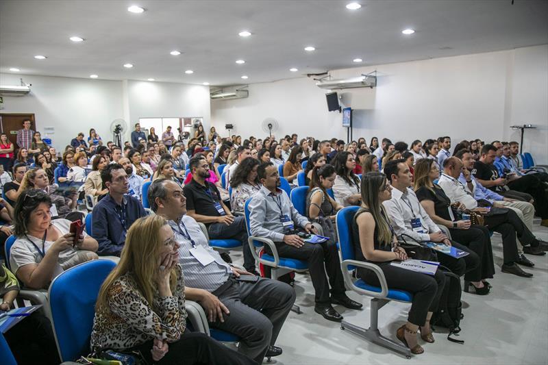 Employer Summit, evento inédito preparado pela empresa curitibana Employer e pela Microsoft com o apoio da Prefeitura de Curitiba no auditório de orgânicos do Mercado Municipal de Curitiba - Curitiba, 11/09/2019 - Foto: Daniel Castellano / SMCS