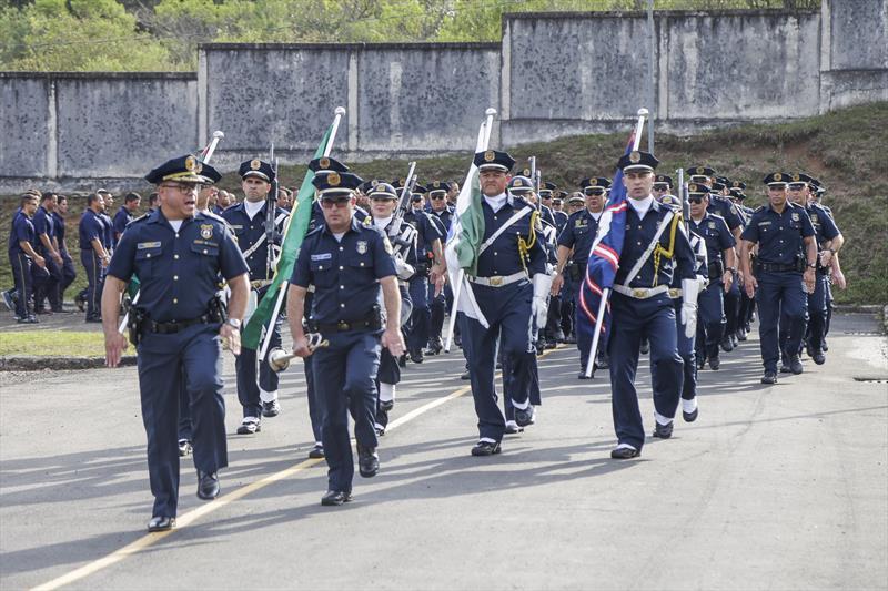 Solenidade de troca de comando da Guarda Municipal. Curitiba, 11/09/2019. Foto: Pedro Ribas/SMCS