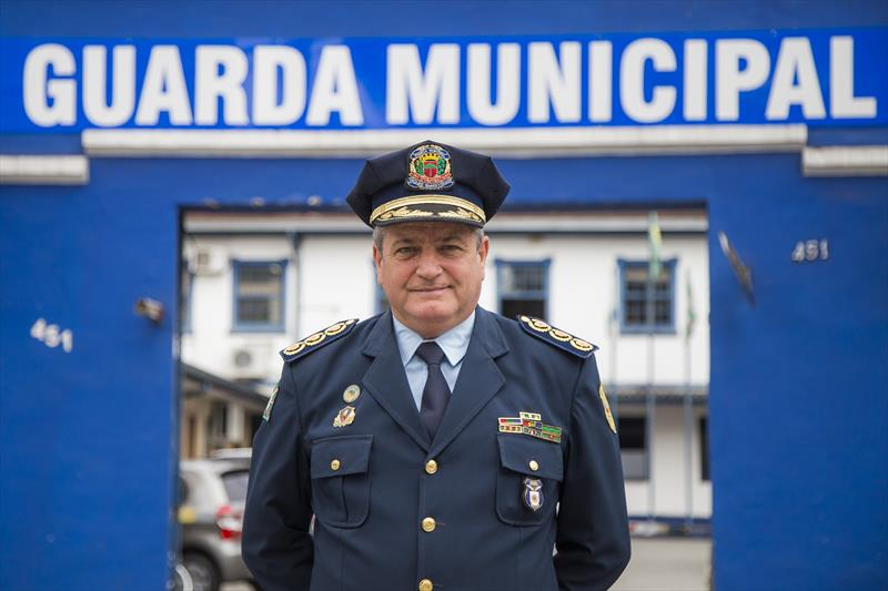 Odgar Nunes Cardoso, comandante da Guarda Municipal. Curitiba, 29/08/2019. Foto: Pedro Ribas/SMCS