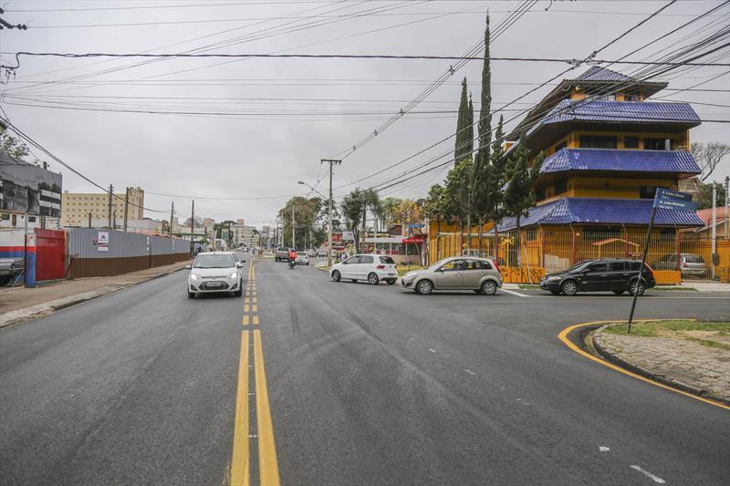 Binário entre as Ruas João Bettega e Parigot de Souza, no bairro Portão - Curitiba, 13/09/2019 - Foto: Daniel Castellano / SMCS