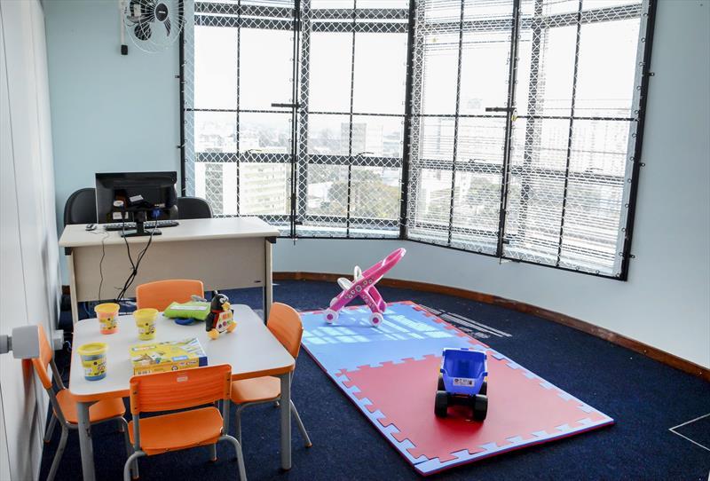 Estudantes com autismo ganham centro de atendimento educacional especializado (CEETEA). Curitiba, 12/09/2019. Foto: Levy Ferreira/SMCS