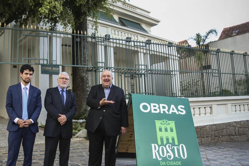 Rosto da Cidade na rua Jaime Reis no centro histórico, escritório de advocacia Andersen Ballão. Curitiba,17/09/2019. Foto: Luiz Costa /SMCS.