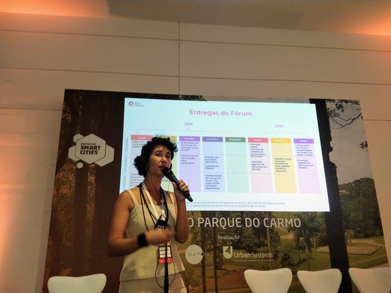 Lei de Inovação de Curitiba é destaque em fórum de cidades inteligentes. Foto: Divulgação
