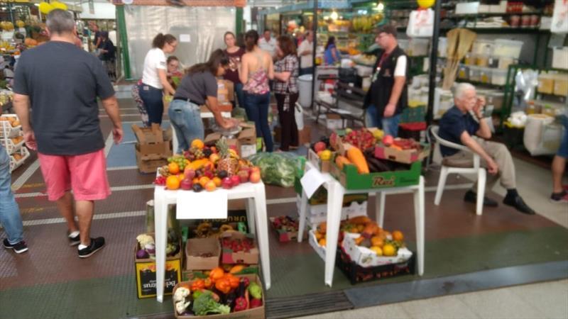 Banco de Alimentos recebe meia tonelada em produtos. Foto: Divulgação