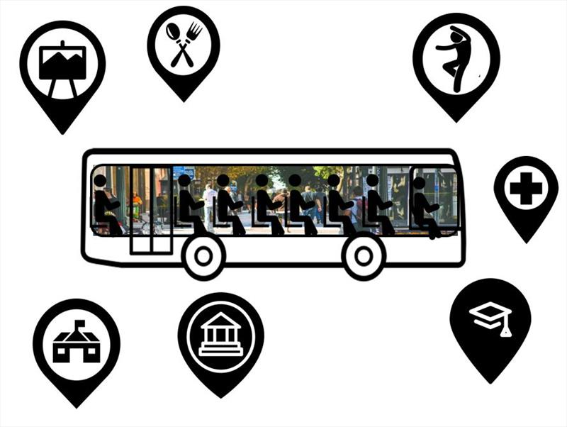 Workshop aponta novos conceitos para a mobilidade. Ilustração/IPPUC