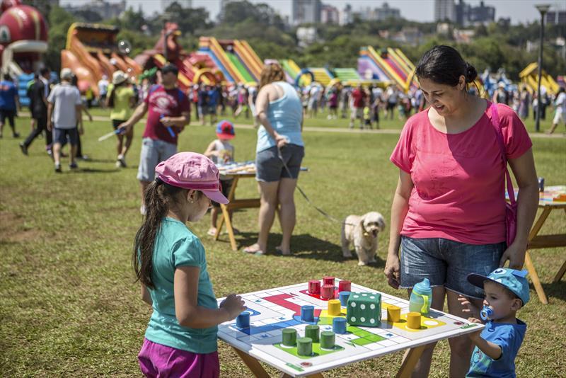 A Prefeitura de Curitiba programou uma série de atividades para comemorar o Dia das Crianças, celebrado em 12 de outubro. Foto: Maurilio Cheli/SMCS (arquivo)