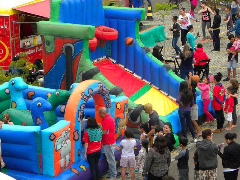 Festa do Dia das Crianças terá muro de escalada e minipedalinho no Barigui. Foto: SMELJ