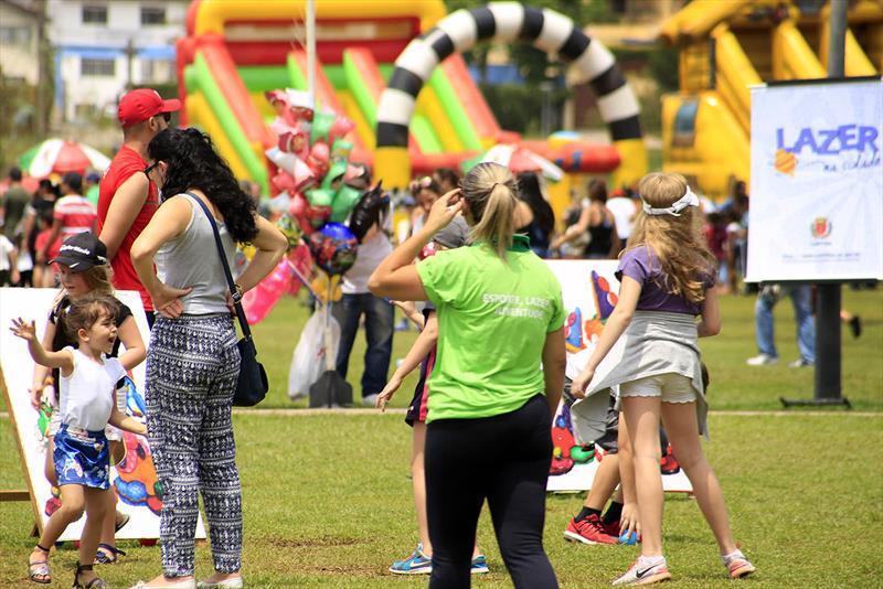 Festa do Dia das Crianças terá muro de escalada e minipedalinho no Barigui. Foto: Divulgação