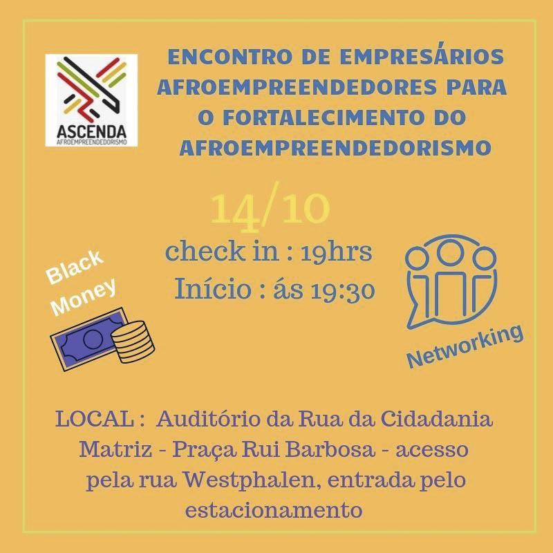 Os afroempreendedores de Curitiba agora têm um lugar para fazer networking e promover rodadas de negócios na cidade.