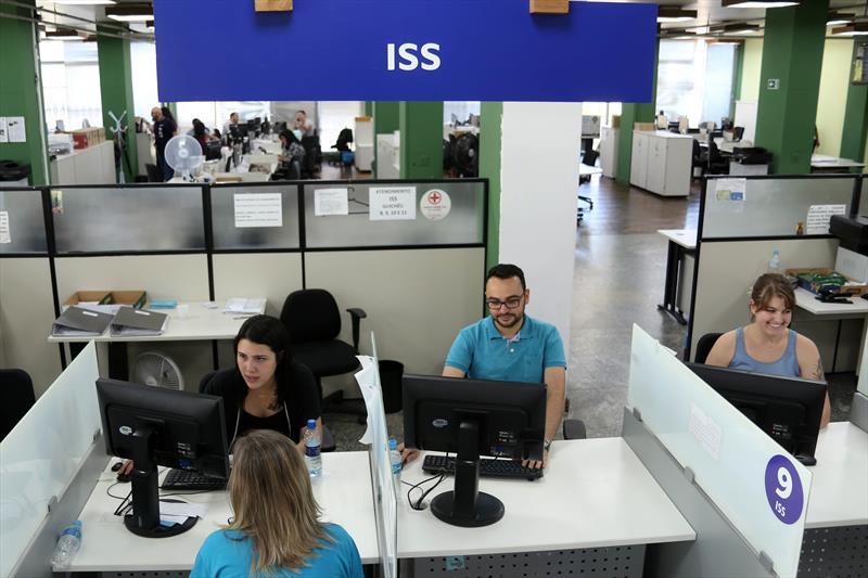 Arrecadação de ISS cresce 8,3% em oito meses Curitiba,11/10/2019. Foto: Luiz Costa / SMCS