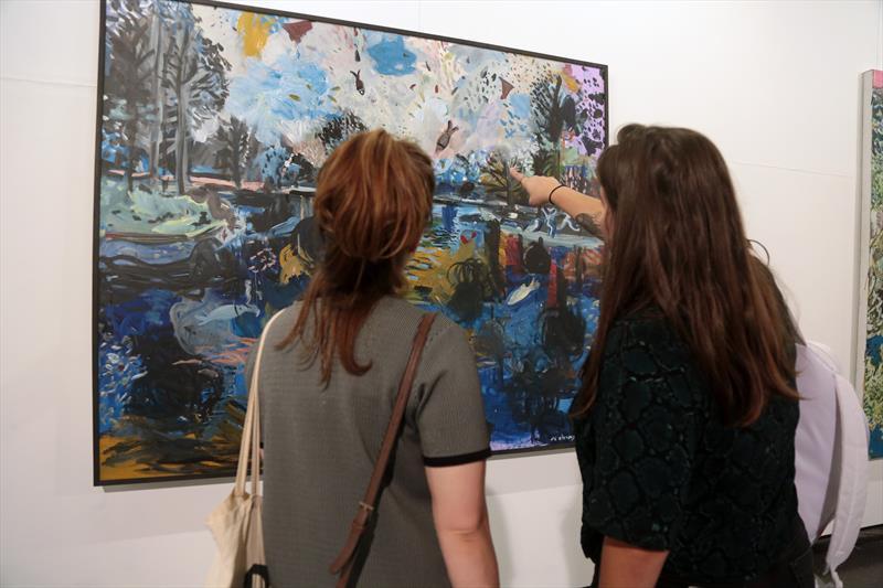 Bienal no MUMA. Artistas Chineses em exposição na sala 1 Curitiba, 11/10/2019. Foto: Cido Marques/FCC