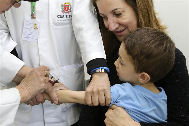 Sábado tem vacinação de crianças em 12 postos de saúde. Foto: Cesar Brustolin/SMCS