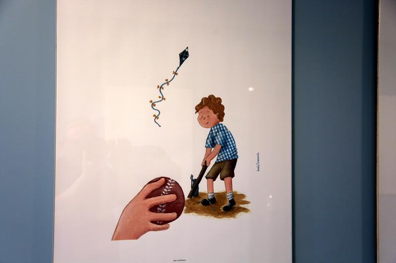 Ilustrações de livro de poesia sobre Curitiba ganham exposição - Foto: Cido Marques