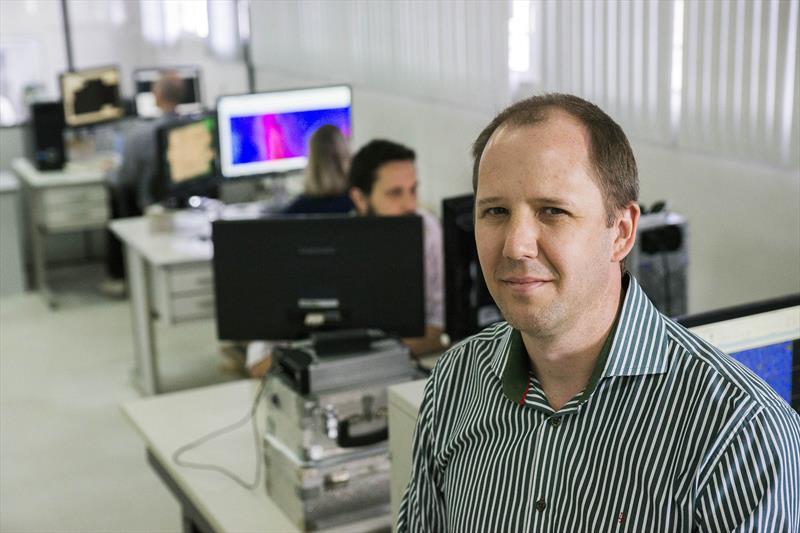 Alex Sikora, gerente do projeto Curitibatech. Curitiba, 01/11/2019. Foto: Valdecir Galor/SMCS