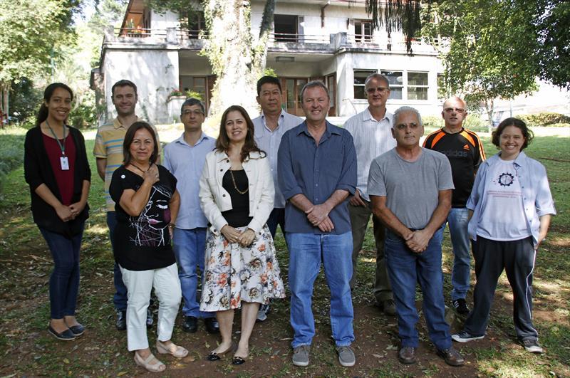 Equipe de Geoprocessamento do IPPUC. Curitiba, 04/11/2019. Foto: Lucilia Guimarães/SMCS