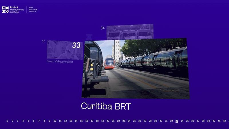 BRT curitibano na lista dos 50 projetos mais influentes do mundo.