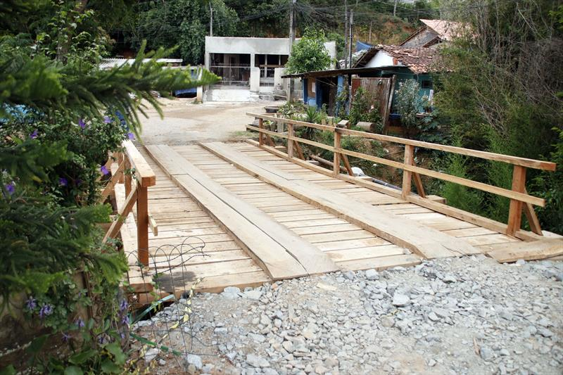 Ponte reconstruída no Campo Comprido deixa travessia mais segura. Curitiba, 07/11/2019. Foto: Lucilia Guimarães/SMCS