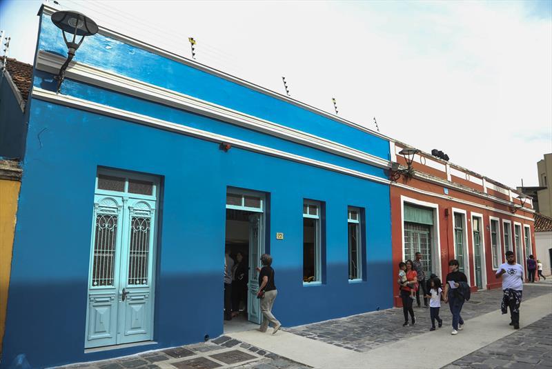 Curitiba ganhou o primeiro espaço dedicado exclusivamente à capacitação gratuita de artesãos, designers e artistas de Curitiba e Região Metropolitana. Curitiba, 08/11/2019. Foto: Luiz Costa/SMCS