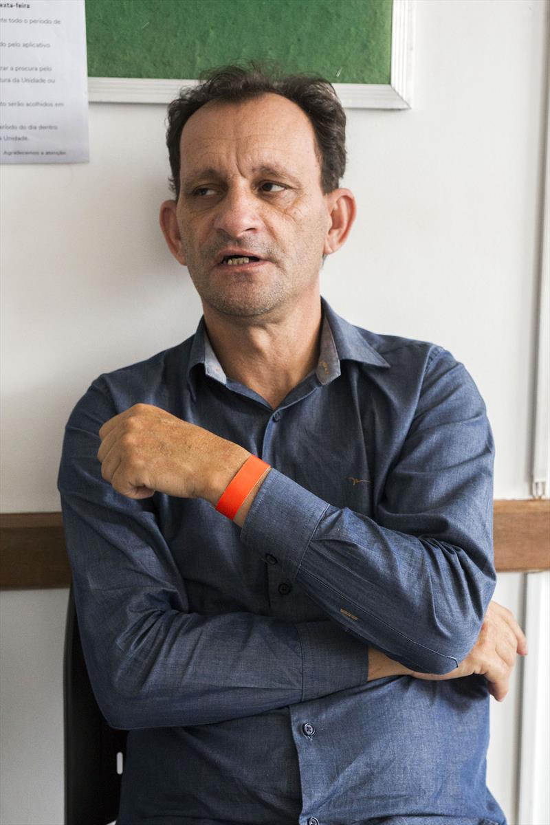 7º Mutirão Diabetes e Retina do Bem. Na imagem Joel dos Santos Trizotte. Curitiba, 09/11/2019. Foto: Valdecir Galor/SMCS.