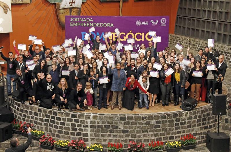 Bom Negócio forma mais 165 empreendedores com foco em inovação. Curitiba, 13/11/2019. Foto: Lucilia Guimarães/SMCS