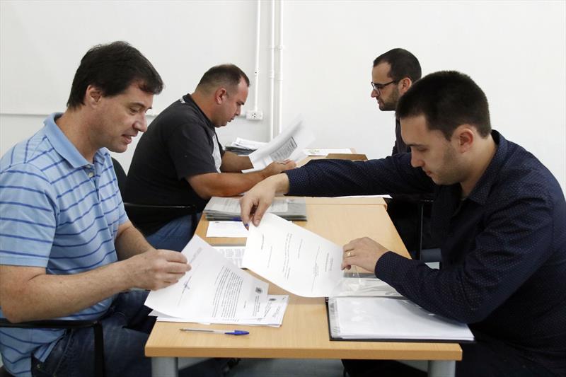 Posse dos engenheiros aprovados no concurso da Prefeitura Municipal de Curitiba. Curitiba, 29/11/2019. Foto: Lucilia Guimarães/SMCS