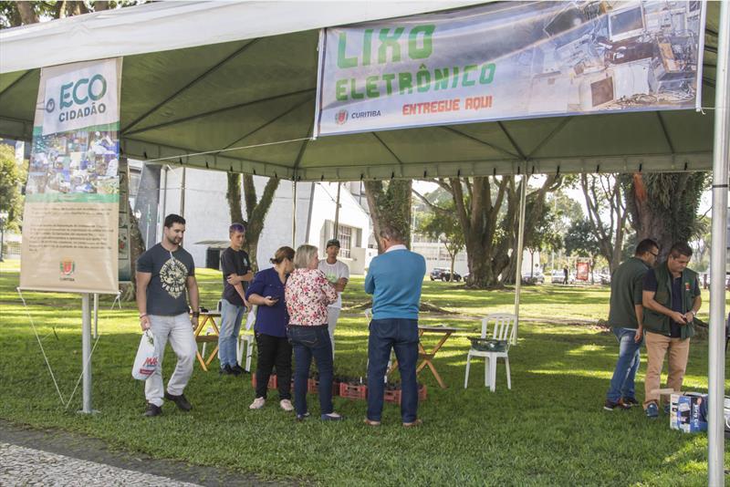 População ganha novo ponto de recolhimento de lixo eletrônico. Foto: Levy Ferreira/SMCS