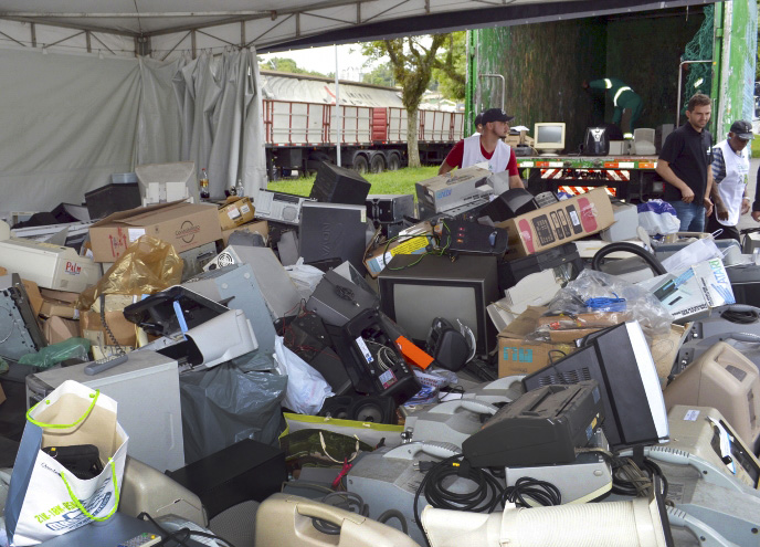 População ganha novo ponto de recolhimento de lixo eletrônico. Foto: Divulgação