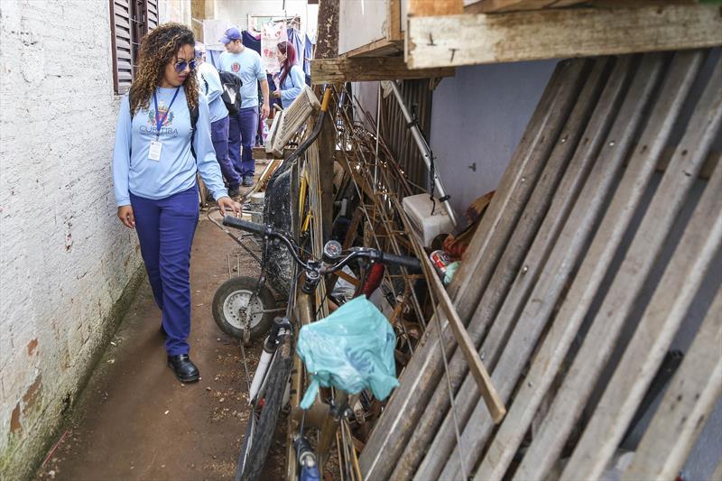 Moradores do Vila Verde, Vitória Régia e Caiuá receberam a visita dos agentes comunitários e de endemias da Secretaria Municipal da Saúde. Foto: Pedro Ribas/SMCS (arquivo)