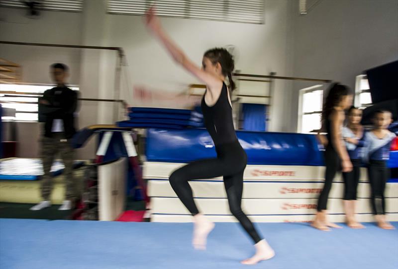 REgional Santa Felicidade tem final de semana com festivais de natação, ginástica artística e competição de jiu-jitsu. Foto: Levy Ferreira/SMCS