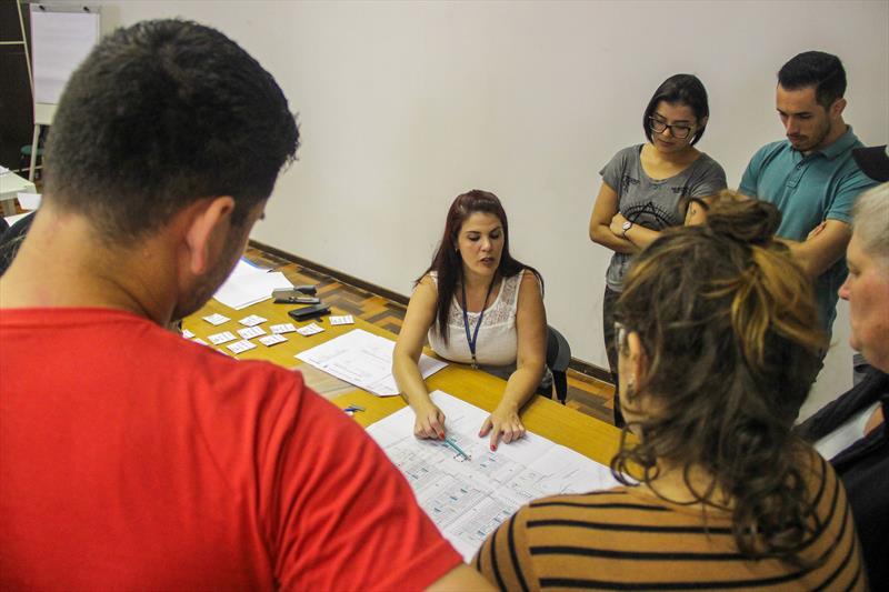 Escolha de unidades do Residencial Carducci, empreendimento entregue no bairro Pinheirinho.  Foto: Rafael Silva