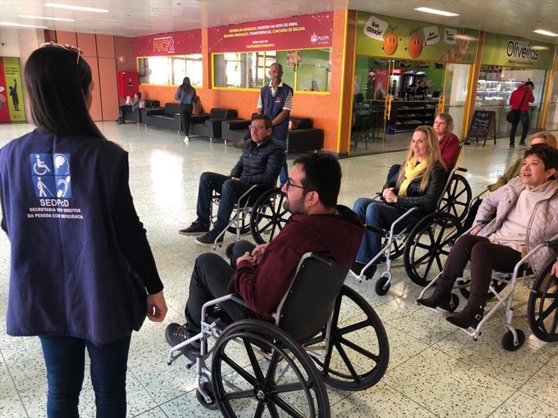 Engenheiros e arquitetos da Prefeitura têm curso sobre acessibilidade. foto: Divulgação