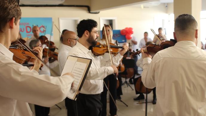 Camerata Antiqua leva ânimo a hospitais e instituições sociais. Foto: Divulgação