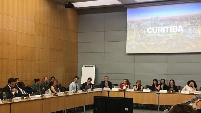 Bairro Novo da Caximba é destaque na OCDE em Paris