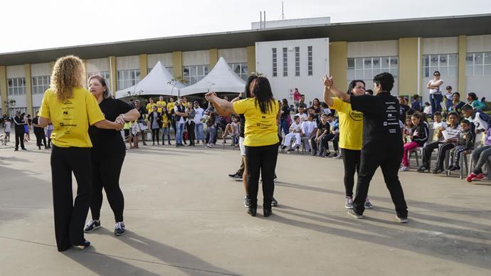 Terceira edição do Projeto de Interação Jovem 2.0, promovido pela Associação de Proteção à Infância Vovô Vitorino, na Regional Tatuquara. Curitiba, 13/07/2019. Foto: Pedro Ribas/SMCS