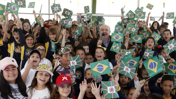 Entrega do Farol do Saber e Inovação Albert Einstein. Curitiba,07/08/2019. Foto: Lucilia Guimarães/SMCS