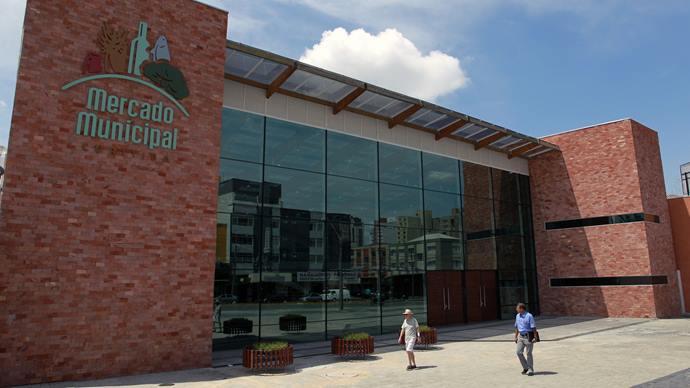 A partir desta quarta-feira o Mercado Municipal abrirá todas às quartas-feiras para happy hour. Foto:Luiz Costa/SMCS(arquivo)