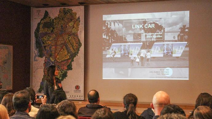 Workshop aponta novos conceitos para a mobilidade. Foto: Divulgação/IPPUC