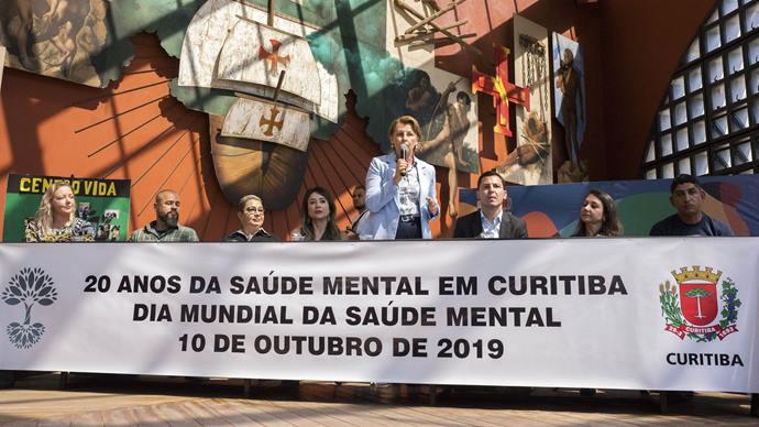 Atenção à saúde mental em Curitiba comemora 20 anos. Curitiba, 10/10/2019. Foto: Valdecir Galor/SMCS