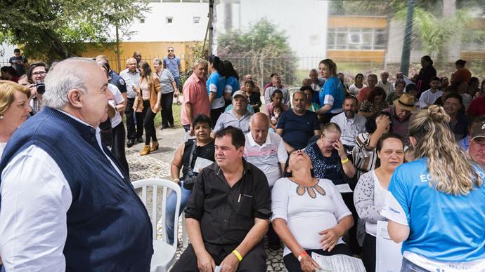 Prefeito Rafael Greca participa do 7º Mutirão Diabetes e Retina do Bem.  Curitiba, 09/11/2019. Foto: Valdecir Galor/SMCS.