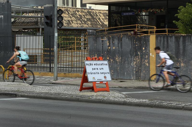 Fiscalizações da Setran inibem irregularidades no trânsito. Foto: Luiz Costa /SMCS.