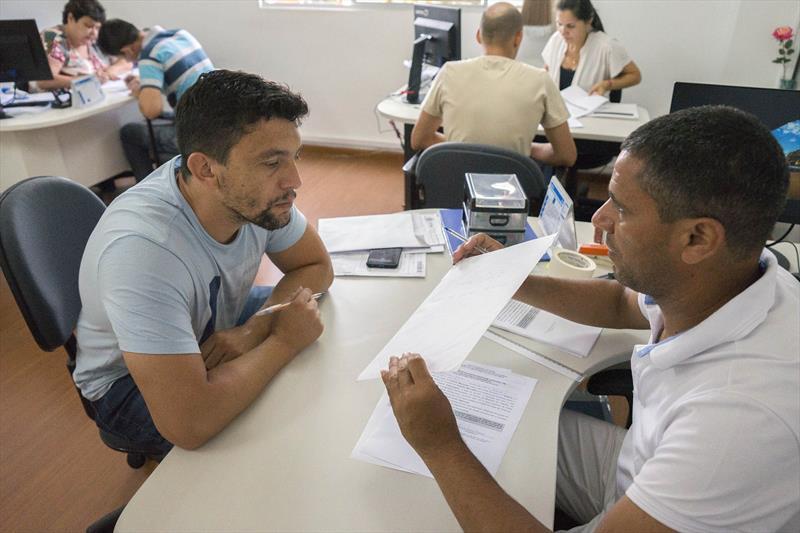 Enrega do resultado do exame toxicológico, na medicina ocupacional. Curitiba, 14/01/2020. Foto: Valdecir Galor/SMCS