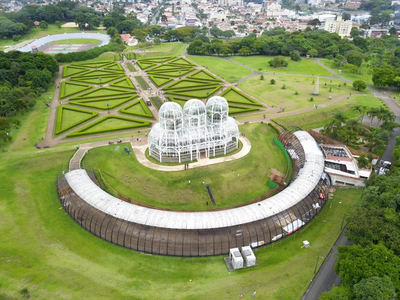 jardim botânico, obras, revitalização, curitiba