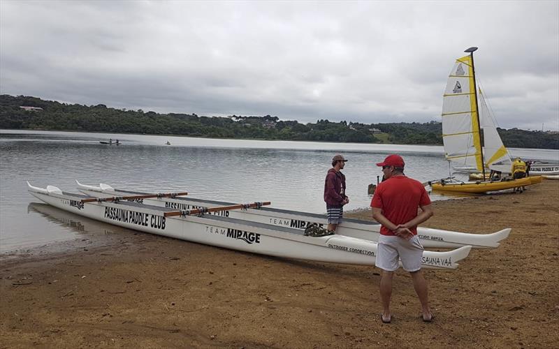 Passaúna e Náutico têm canoa havaiana, caiaque e canoagem no fim de semana. Foto: Divulgação